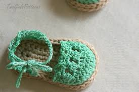 Crochet Baby Sandals Pattern Enchanting Crochet Pattern For Baby Espadrille Sandals Crochet Pattern 48 On