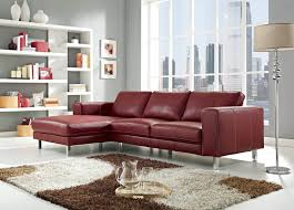 Living Room With Red Furniture Sofa Glamorous Red Leather Sofa 2017 Ideas Surprising Red