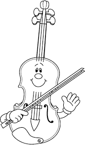 Has Buscado Violin Coloring Pages