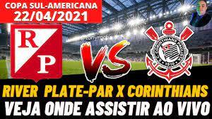 ONDE ASSISTIR RIVER PLATE ASUNCION X CORINTHIANS AO VIVO   COPA  SUL-AMERICANA - YouTube