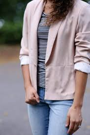 How To Wear Light Pink Pants How To Wear A Light Pink Blazer Light Pink Blazers Blazer