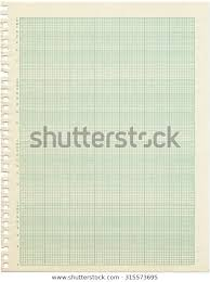 Old Sheet Semilog Graph Paper Shows Backgrounds Textures