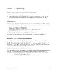 Service Resume Sample Simple Resume Accomplishments Sample With Achievement Examples For Resumes