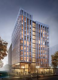 The United States' First Mass-Timber Highrise Receives Planning Permission,  Courtesy of LEVER Courtesy of LEVER Architecture