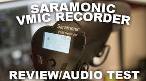 <b>Saramonic VMIC</b> Recorder Review / Test - YouTube