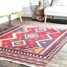 pink tribal rug burdy wool handmade southwestern diamond print orange area impressive rugs wonderful oriental