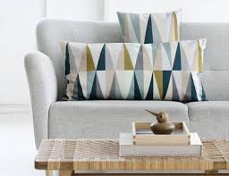 brilliant ideas of embracing geometric print in home interior design