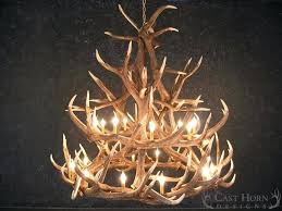 full size of white antler chandelier modern deer with crystals whitetail elk cast horn designs large