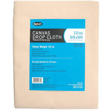 sigman 5 ft 9 in x 8 ft 9 in 10 oz canvas drop cloth cd100609 the home depot