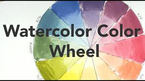 Watercolor Combination Chart Color Mixing Lesson For Beginners The Watercolor Color Wheel