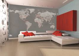 Wall Mural For Living Room Silver World Map Wall Mural Boys Bedroom Pinterest Search