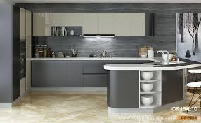 contemporary high gloss lacquer kitchen cabinet op15 l10