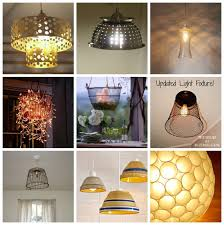 diy lighting ideas. Lots Of DIY Lighting Ideas! You Can Create Unique Light Fixtures With Items Find Diy Ideas I