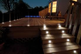 outdoor stair lighting lounge. Deck Step Lighting And Inset Ideas: Full Size Outdoor Stair Lounge