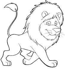 Small Picture free animals lion printable painting for preschool Lion Coloring