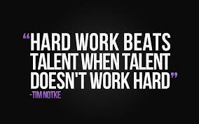 Quotes Works Inspirational Quote Hard Work Beats Talent Dreams 2