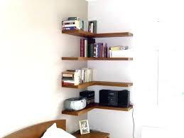 Floating Corner Shelves Walmart Mesmerizing Corner Shelves For Wall Wall Mount Corner Shelf With Books In Order