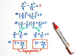 finding equation of hyperbola with foci and asymptotes tessshlo