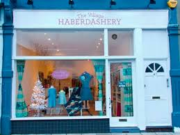 32 best Fabric - UK Stores images on Pinterest | Fabric shop ... & LONDON: The Village Haberdashery shop Adamdwight.com