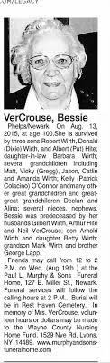 Obituary for Bessie Phelps/ Newark Crouse - Newspapers.com