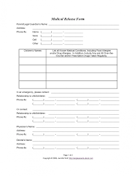 5 Emergency Contact Form Template Outline Templates Sch Vawebs