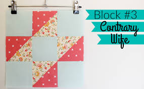 HST Sampler Quilt | Block #3: Contrary Wife - YouTube & HST Sampler Quilt | Block #3: Contrary Wife Adamdwight.com
