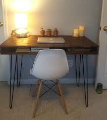 mid century modern office desk. midcentury modern desk built by reader using remodelaholic plans mid century office
