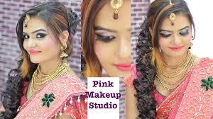 र स प शन स ग त क ल ए द ल हन म कअप glowy makeup for wedding and reception in hindi