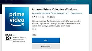 Amazon Prime Video App is now available ...