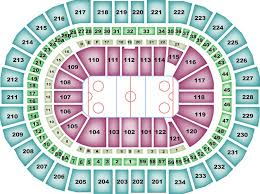 Breakdown Of The Ppg Paints Arena Seating Chart Pittsburgh