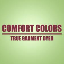 Size Chart Comfort Colors