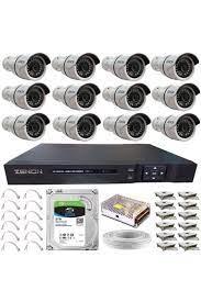 ZENON Güvenlik Kamera Seti 12 Kameralı Fiyatı, Yorumları - Trendyol