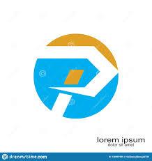Logo Design Samples For Alphabets P Letter Logo Design Stock Vector Illustration Of Logo