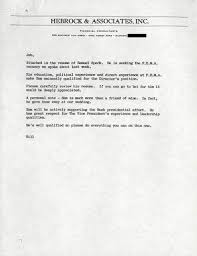 Letter Of Recommendation For Appointment To Board Requests And Recommendations Jeb Bushs Letters The New