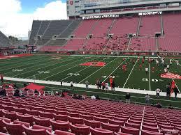 Utah Football Stadium Seating Chart Rice Eccles Stadium Section E35 Rateyourseats Com