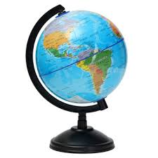 world globe on stand. 14cm World Globe Atlas Map With Swivel Stand Geography Educational Toy Kids Gift On