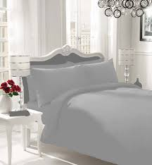 luxury non iron percale duvet cover bed set 3 sizes great choice of colours