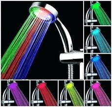 color changing led shower head color changing led shower head romantic 7 color change led light