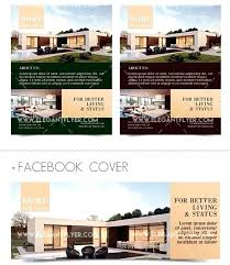 New Property Flyer Template Design Real Estate Photoshop