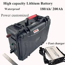 headway deep cycle 12v lithium ion battery pack lifepo4 12v 200ah for solar energy storage batterypower electric car
