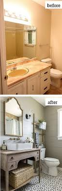 Best  Budget Bathroom Makeovers Ideas On Pinterest - Before and after bathroom renovations
