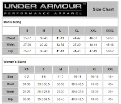 Under Armour Clothing Size Chart 78 Comprehensive Under Armour Socks Size Chart