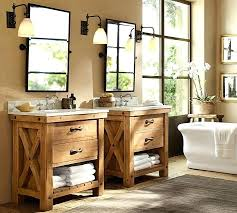 pottery barn bathrooms ideas. Pottery Barn Bathroom Ideas Pinterest Reclaimed Wood Single Sink Console Wax Pine Finish Interior Bathrooms E