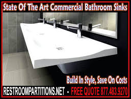 commercial restroom sink faucets bathroom sinks that go green and beyond a ers guide for commercial bathroom sinks