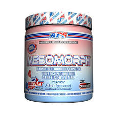 the king of pre workout powders mesomorph by aps nutrition delivers pharmaceutical grade dosages muscle swelling