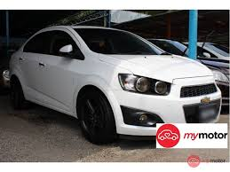 2013 Chevrolet Sonic Sedan for sale in Malaysia for RM33,800 | MyMotor
