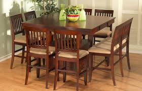 charming tall dining table 10 bar height extendable room chairs counter sets gathering round and top dinette din