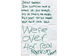 Stupid Break Up Apology 12 Hilarious Apology Notes Ever