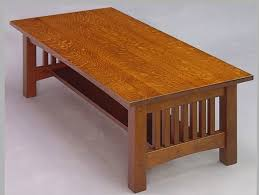 creative mission coffee table plans for furniture home design