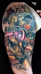 Marvel Tattoo By Tattoosoulcom On Deviantart